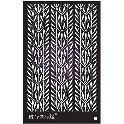 Finnabair - Elementals Stencil - Laurels