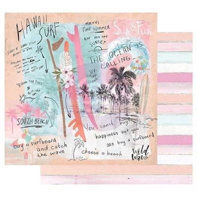 Surfboard kollekció 6x6 papírkollekció