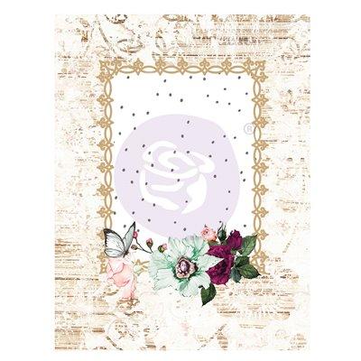 Pretty Mosaic kollekció 3x4 Journaling Cards