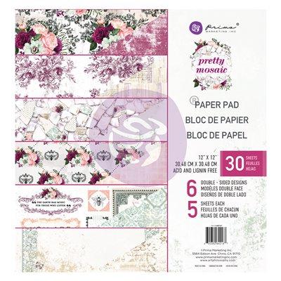 Pretty Mosaic 12x12 mini papírkollekció