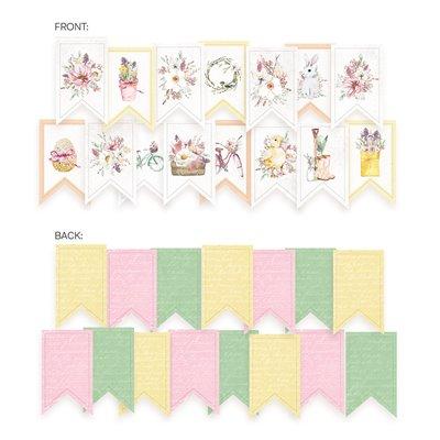 The Four Seasons - Spring zászló girland
