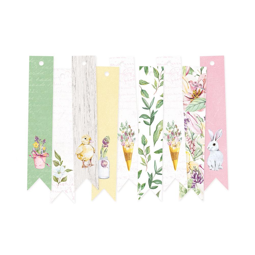 The Four Seasons - Spring - dekorációs címkék 03 - 9 db