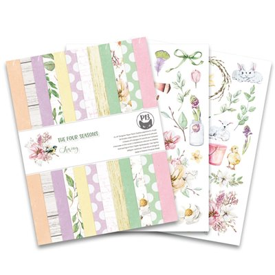 """The Four Seasons - Spring 6x8""""-es kollekció (24 db 2 oldalas papír + 2 db kivágóív)"""