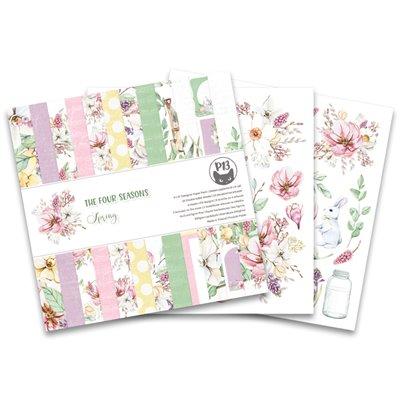 """The Four Seasons - Spring 6""""-es kollekció (24 db 2 oldalas papír + 2 db kivágóív)"""