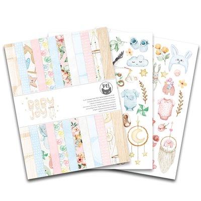 """Baby Joy 6x8""""-es kollekció (24 db 2 oldalas papír + 2 db kivágóív)"""