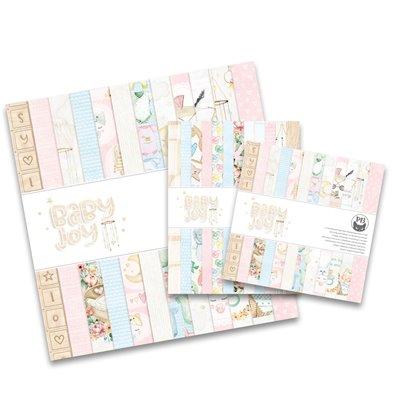 """Baby Joy 6""""-es kollekció (24 db 2 oldalas papír + 2 db kivágóív)"""