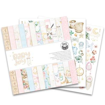 """Baby Joy - 12""""-es mini kollekció (6 db 2 oldalas papír + 1 db kivágóív)"""