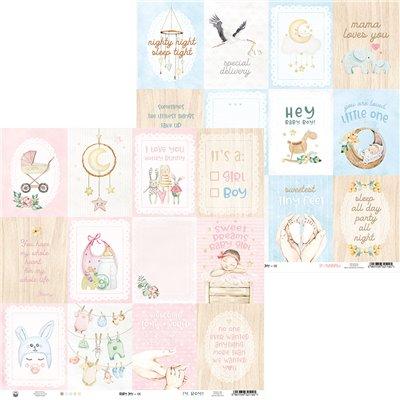 """Baby Joy kivágóív kártyák 12x12"""""""