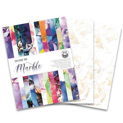 "Paper Pad Marble 6x8"" (24 db 2 oldalas papír + 2 db extra papír)"