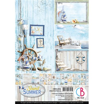 Sound of Summer Creative Pad A4