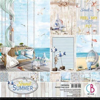 """Sound of Summer kollekció 12""""x12"""""""