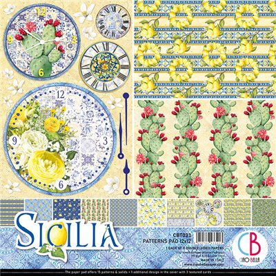 "Sicilia Patterns Pad 12""x12"""