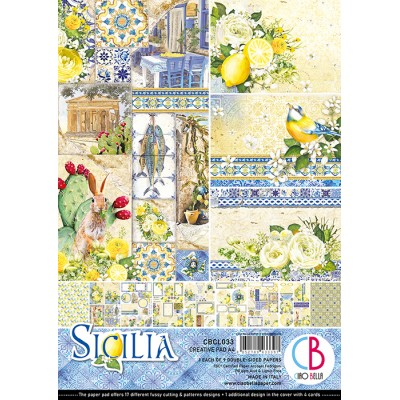 Sicilia Creative Pad A4