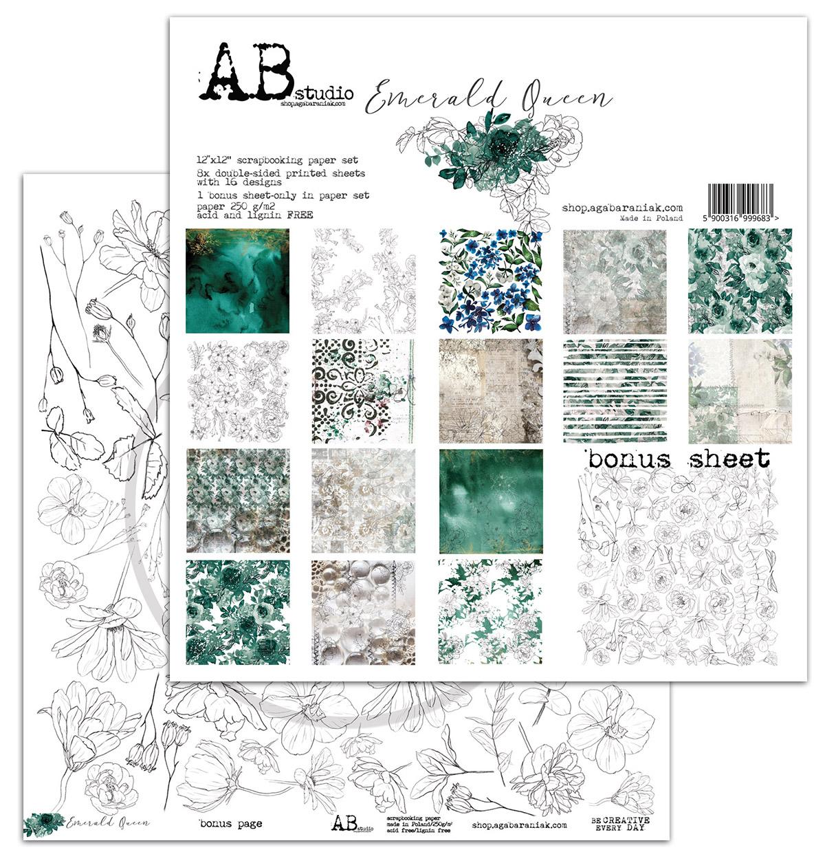 """Emerald Queen 12""""-es kollekció"""