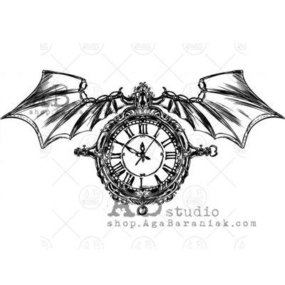 "Gumibélyegző - ""steampunk wings"" ID-698"