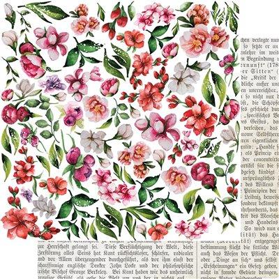 kivágóív virágos