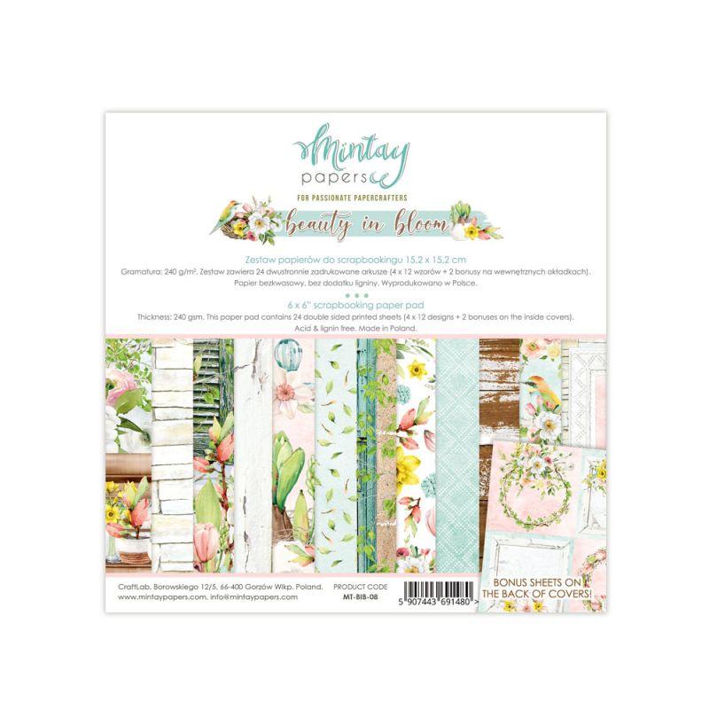 Beauty in Bloom 6x6 kollekció