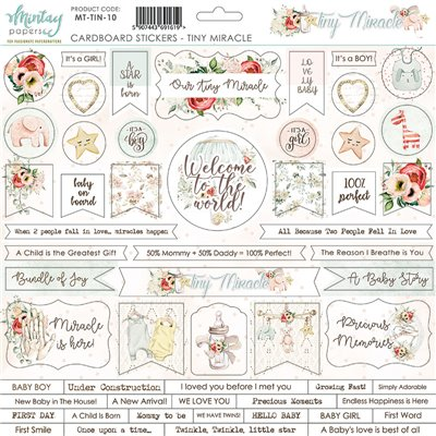 Tiny Miracle karton matrica 12x12
