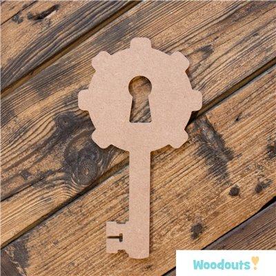 Steampunk kulcs