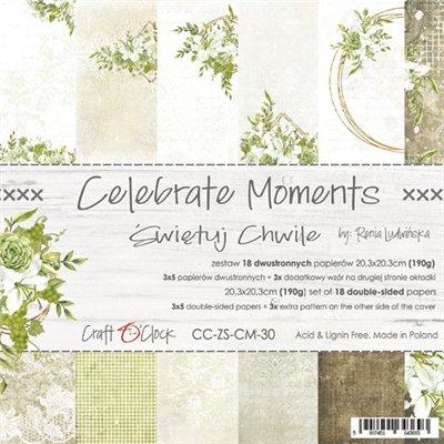 Celebrate Moments - papírkészlet 20,3x20,3cm