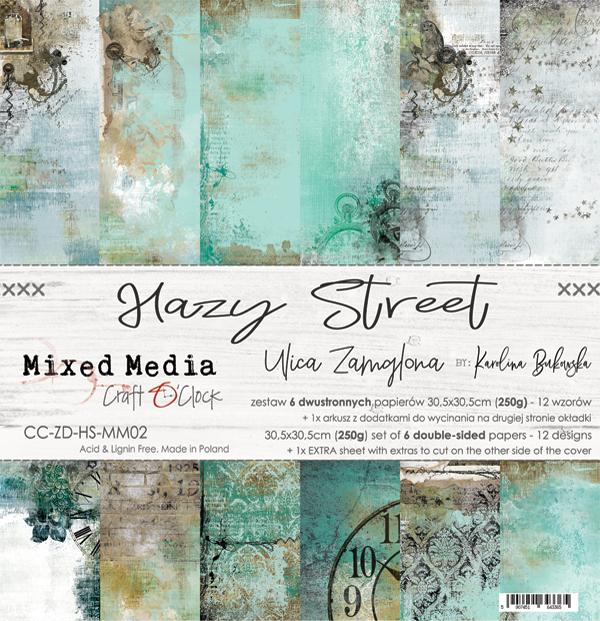 Hazy Street - papírkészlet 30,5x30,5cm