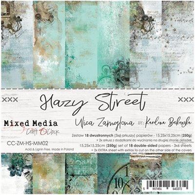 Hazy Street - papírkészlet 15,25x15,25cm