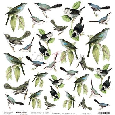 Birds - kivágóív