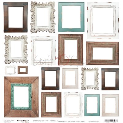 Frames - kivágóív