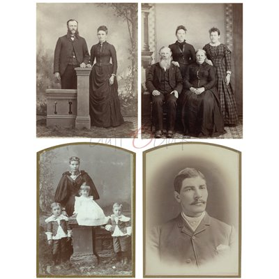 Vintage Photo Set 01- kivágóív