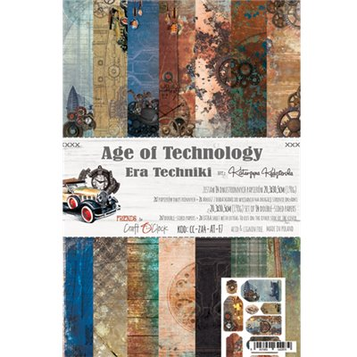Age of Technology - papírkészlet 20,3x30,5cm