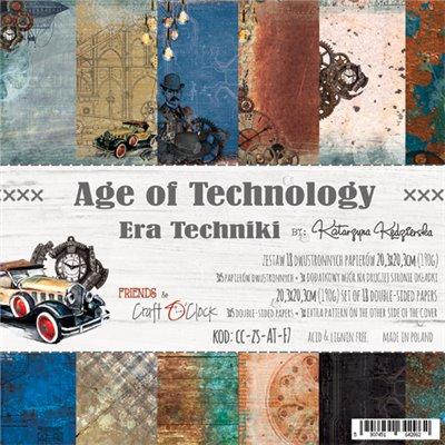 Age of Technology - papírkészlet 20,3x20,3cm