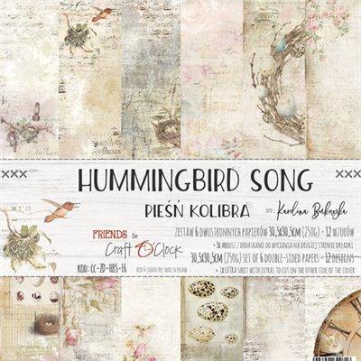 Hummingbird Song - papírkészlet 30,5x30,5cm