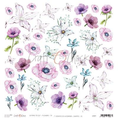 Flowers - IX kivágóív