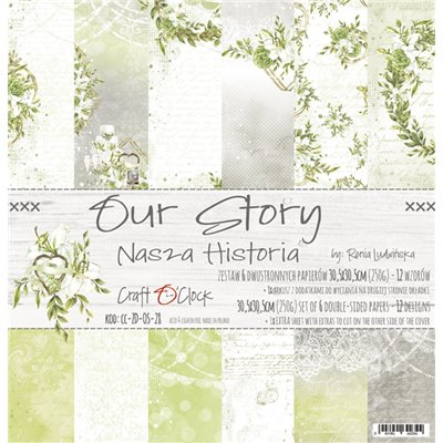 Our Story - papírkészlet 30,5x30,5cm