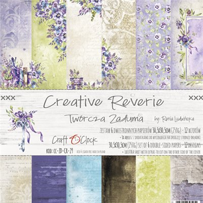 Creative Reverie - papírkészlet 30,5x30,5cm