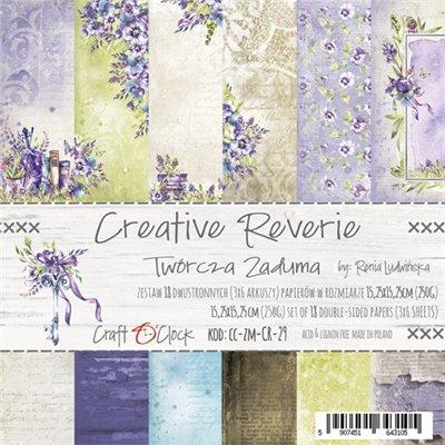 Creative Reverie - papírkészlet 15,25x15,25cm