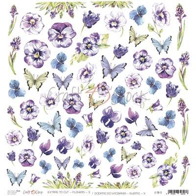 Flowers - X kivágóív