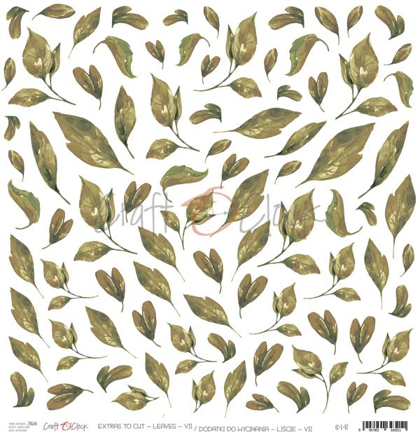 Leaves - VII - kivágóív