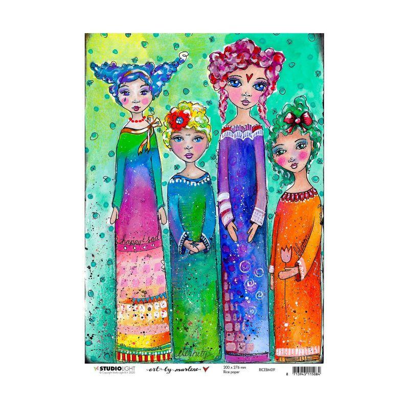 Art by Marlene 5.0 nr.09 A4-es rizspapír