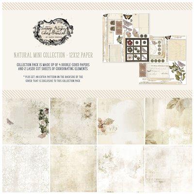Vintage Artistry Natural 12×12 Collection Pack