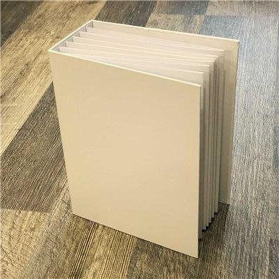 "Foundations - Album Series: 6.25""X8.25"" (fehér)"