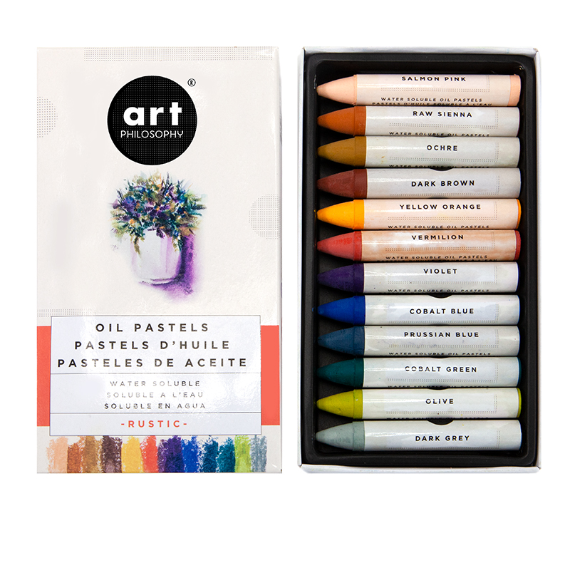 Prima Marketing Water Soluble Oil Pastels - Rustic