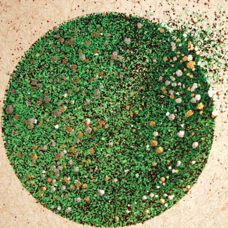 Stampendous Frantage Aged Embossing Enamels - green