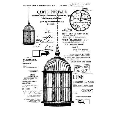 The cage A6-os bélyegző