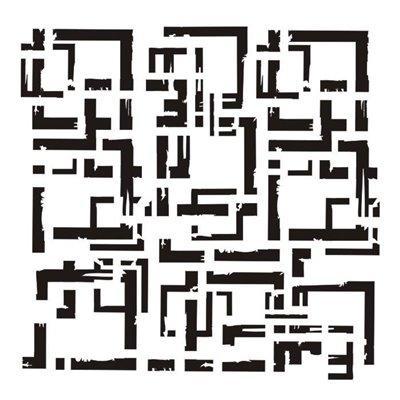 "Frames 6x6"" stencil"