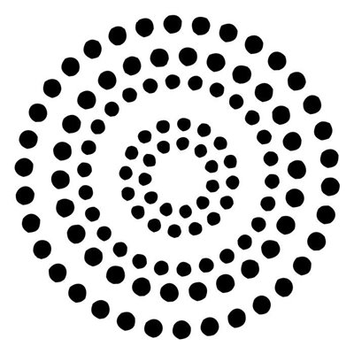 "Circle of life 6x6"" stencil"