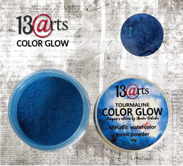 Color Glow - Tourmaline - gyöngyházfényű pigmentpor