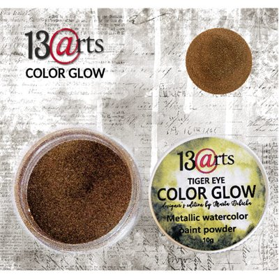 Color Glow - Tiger Eye - gyöngyházfényű pigmentpor