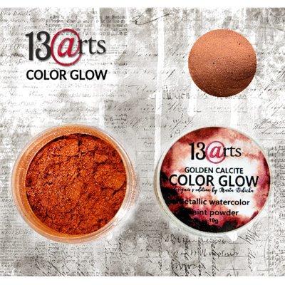 Color Glow - Golden Calcite - gyöngyházfényű pigmentpor