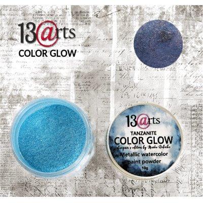 Color Glow - Tanzanite - gyöngyházfényű pigmentpor